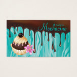 311 Chocolate Business Card Bakery Cupcake