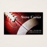 American Football Coach or Player Card Club Sport