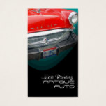Antique auto restoration business template business card