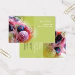Bakers, pastry shops/DIY fonts Business Card