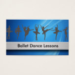 Ballet Dancing Business Cards