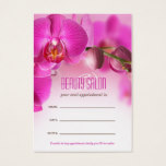 Beauty Salon Appointment / Business Card Template