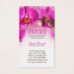 Beauty Salon Nails & Day Spa Business Card