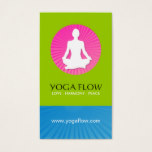 Bright Modern Yoga Business Cards