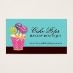 Cake Pops Business Cards