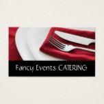 Catering / Food Business Card