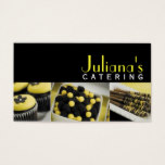Catering Service, Food, Bakery Business Card