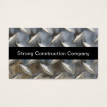 Cool Construction Or Builder Business Card
