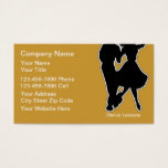 Dance School Business Cards