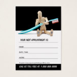 Dentist / dental appointment card
