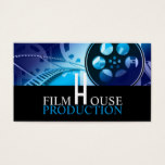 Director, Producer, Film, Movies Business Card