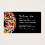 Donut Bakery Business Cards