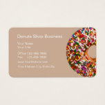 Doughnut Shop Business Cards
