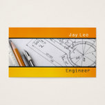 Engineer, Engineering Architect Business Card
