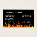 Fire Safety Products Business Card