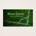 Football Soccer Coach or Player Grass Card