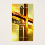 Golden Cross Business Card