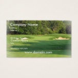 Golf Course Business Card