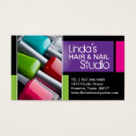 Hair and Nail Studio Business Cards