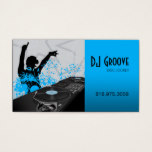 Hip Hop DeeJay Disc Jockey - Music Business Card