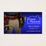 Home Repair Handyman Business Card