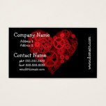 How the Heart Works Business Cards
