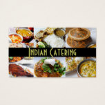Indian Catering Party Service Occasions Business Card