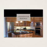 Kitchen Photo Business Card