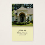 Luxury Home Entrance Real Estate Business Card 3