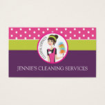 Maid / Housekeeper Business Card