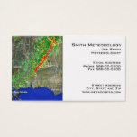 Meteorologist Business Card