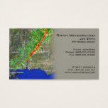 Meterologist Business Card