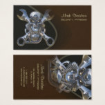 Motorcycle sales   repair businesscards business card