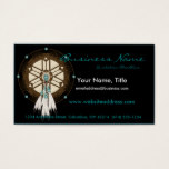 Native American Dreamcatcher D1 Business Cards