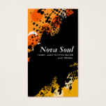 Nova Soul music Business Card