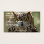Owl Photo Business Card