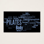 PILATES Instructor Business Card