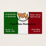 Pizza Business Cards