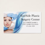 Plastic Surgeon Cosmetic Medical Spa Business Card
