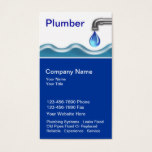 Plumbing Business Cards