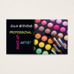 Professional Make-up Artist, Beauty Salon Card