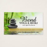 Reiki and Yoga Business Cards