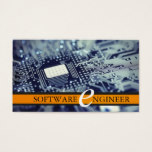 Software Engineer, Computer Business Card