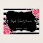 Spa Gift Card | Salon Gift Certificate Template