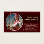 Swashbuckling in Space Business Cards