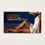 Tanning Salon Spa Business Card