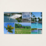 Travel Agent Collage Business Card