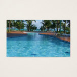 Travel Agent Pool Business Card