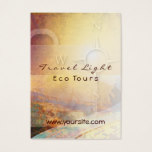 Travel Light Eco Tours Business Card