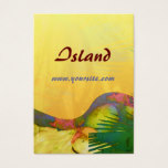 Tropical Delights Citrus Business Card